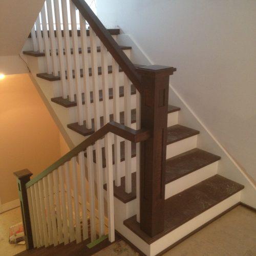Escalier 2 couleurs -2