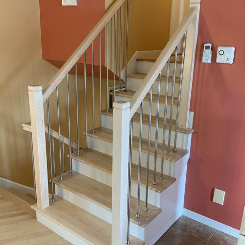 Escalier Rampe barreaux Rond