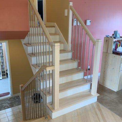 Escalier Rampe barreaux Rond -3