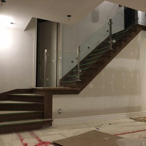 Escalier verre -3