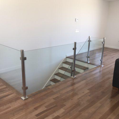 Escalier verre Septembre -2
