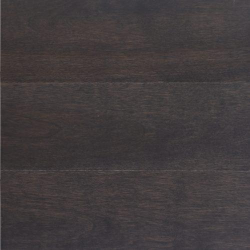 Gris brun sur merisier