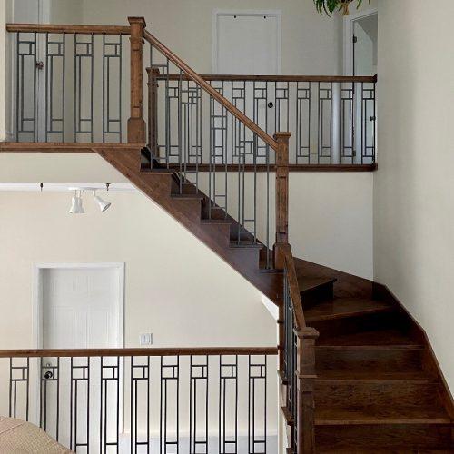 rampe metal escalier bois exo concept